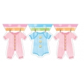 Baby Clothes Baby Shower Banner